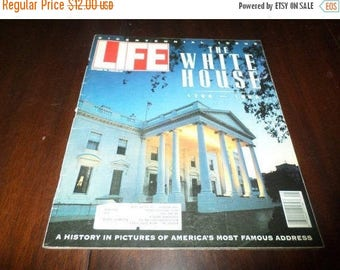 Save 25% Now Vintage October 30 1992 Life Magazine Bicentennial Issue The White House 1792-1992 Excellent Condition
