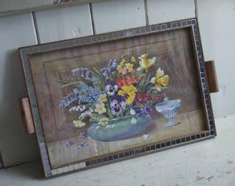 Vintage Tray - Decorative Tray