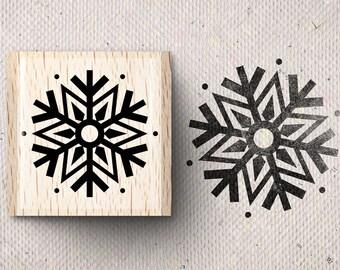 Stamp with snowflake Sinje X 2,0 x 2,0 cm