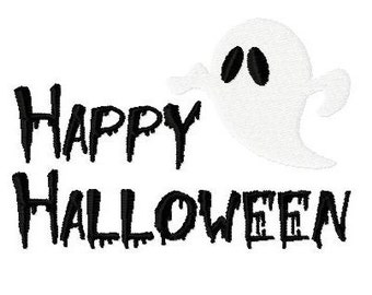 Embroidery Design Happy Halloween 7 - DIGITAL DOWNLOAD PRODUCT