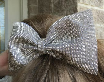 Rhinestone sheet bow (Choose from 3 sizes)