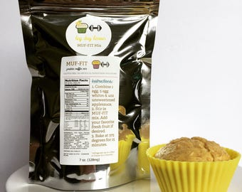Gluten Free Protein Muffin Mix - Low Carb - All Natural - LEMON