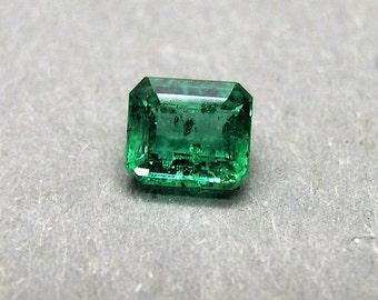 Emerald, Emerald, great color, ca. 0, 65 ct