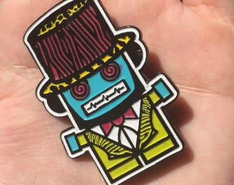 Billionaires Mad Hatter Hat Pin