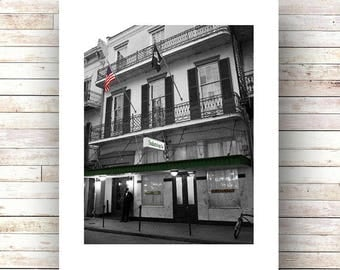 New Orleans Art- GALATOIRE'S - Fine Art Photograph - Limited Edition of 250 - French Quarter Restaurants - Historic Places - Fine Dining