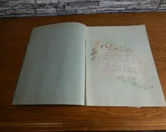 Sketch book 1920/1921