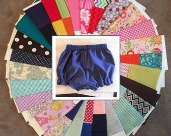Bubble Shorts, Bloomers in ANY color for Baby Toddler Girls