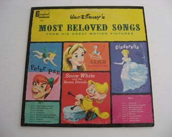 Walt Disney - Most Beloved Songs - Circa 1964