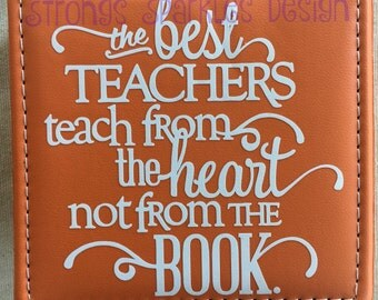 Teacher gift notepad holder