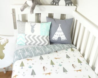 Woodland arrow, fox, bow and arrow nursery set