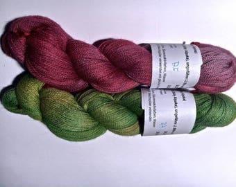 Alpaca lace handcolored LL CA. 800 m A5, A7