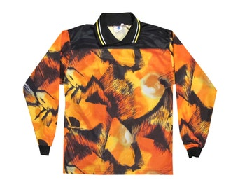 Vintage All Over Print Soccer Goalie Jersey