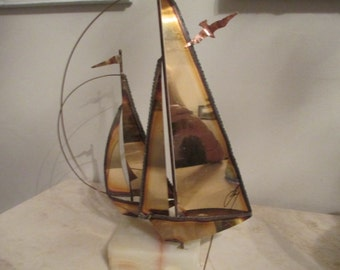 Sailboat signed by Artist