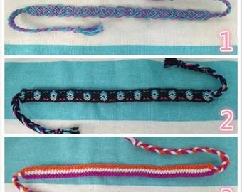 9 Different Kinds of Handmade Braided Friendship bracelet