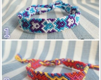 Hipsters Handmade Braided Friendship Bracelet ,Hippie