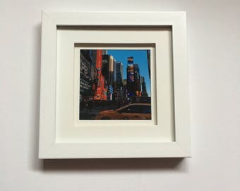 New York Times Square Print