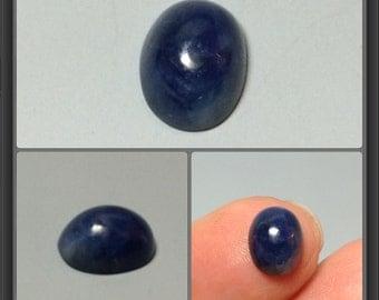Sapphire cabochon 8.5x6.6x4mm