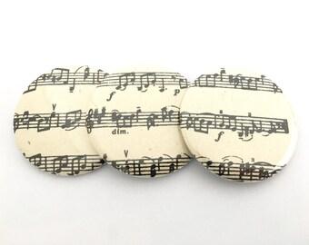 Musical Notes Pocket Mirrors