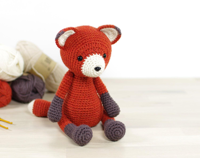 Amigurumi Fox : Pattern red fox amigurumi crochet tutorial
