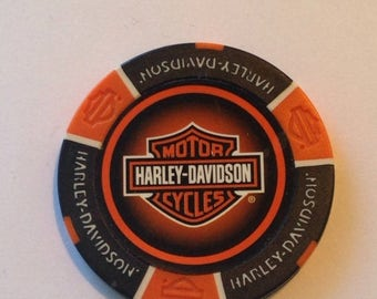 On Sale Las Vegas Harley Davidson Poker Chip