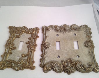 Switch Plate Covers Ornate Switch Plate Cover American Tacks Decorative