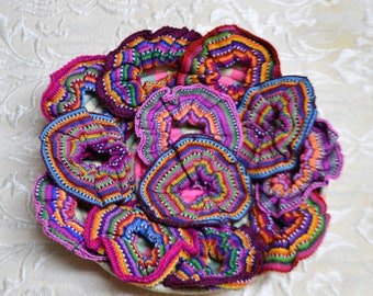 Guatemalan Hair SCRUNCHIES (2 for 8.50)  SOLD OUT - More Coming!