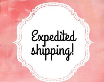 Expedited Shipping (Priority Upgrade)