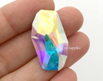 4773 CRYSTAL AB 28x15mm Swarovski Crystal Meteor Fancy Stone