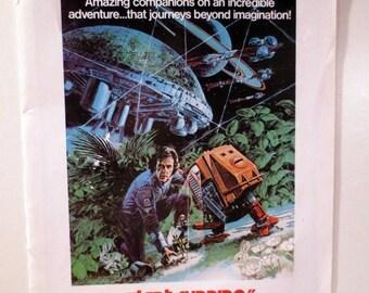 "50% Off Estate Sale Vintage Horror Science Fiction Movie Poster, Item 1816, 2 sided 1971 Silent Running, 1973 Fantastic Planet 14.25"" x 10.2"