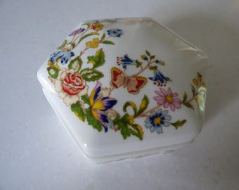 Aynsley Hexagon-Shaped Trinket Box