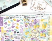 Matte - Squeeze the Day Weekly Planner Kit for No-White Space and White Space Planners  - FK38