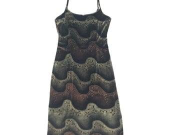 Vintage 90s Grunge Tank Dress