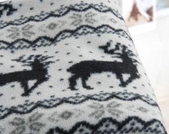 Fleece Fabric Nordic By The Yard