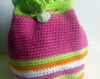 Backpack doudou or colorful backpack
