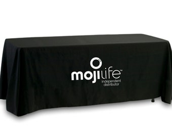 SALE- MojiLife Tablecloth - Single Color Logo