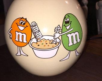 M&M's vintage cookie jar