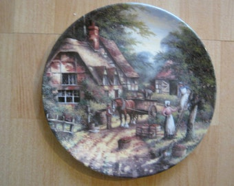 Wedgwood Plate COUNTRY DAYS The Apple Pickers 1991