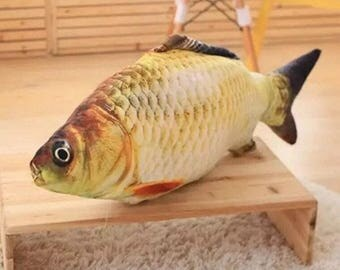Trout Fish Stuffed Toy for Cat