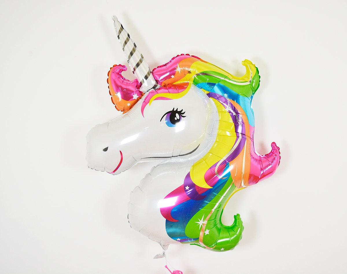 rainbow unicorn balloon unicorn balloon unicorn head unicorn