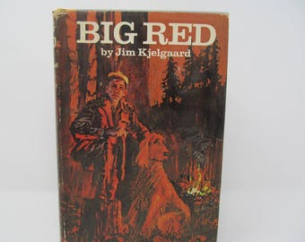 Big Red by Jim Kfelgaard -1945 First Edition