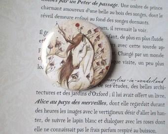 "badge pin ""Unicorn of the Woods"""