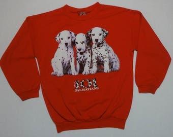 101 Dalmatians Sweatshirt Vintage 1990s 14 Disney