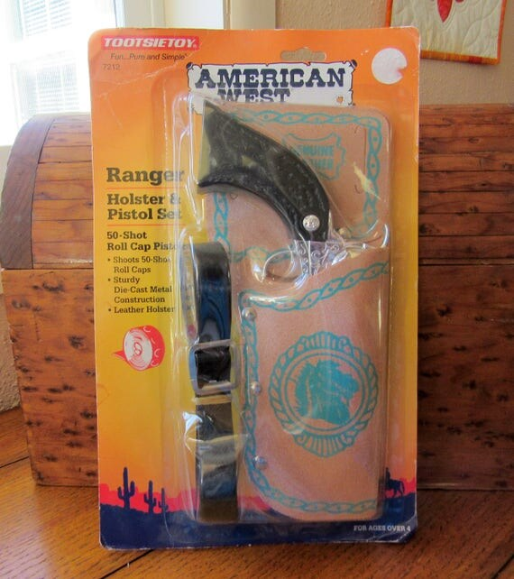 Ranger Pistol And Holster Set Toy Cap Gun