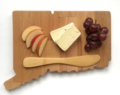 Connecticut Cheese Board, Cutting Board, Serving Board, Wood Gift