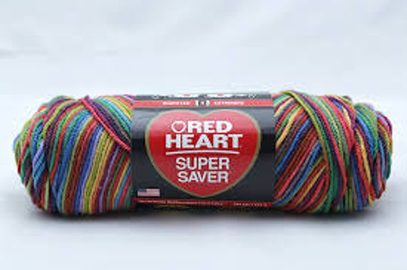 Red Heart Super Saver - Primary