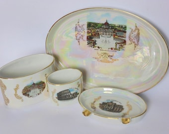 Lusterware Ashtray Etsy