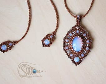 "Pendant ""Milena"" Blue one"