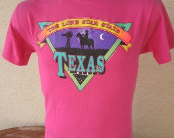 Size L- (43) ** Dated 1991 Texas Shirt (Single Sided)