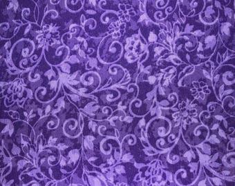 Violet swingls, violet floral