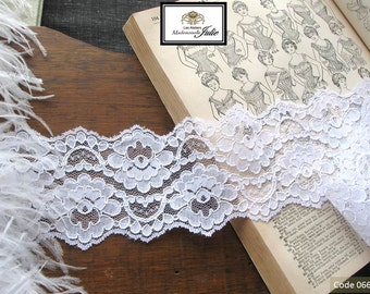 Color white style Guipure lace